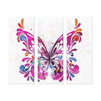 Decorative Jewel  Butterfly  Canvas Canvas Print