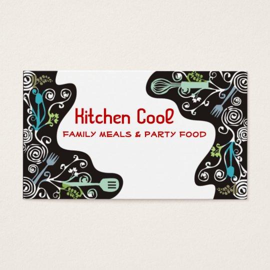decorative kitchen utensils business cards