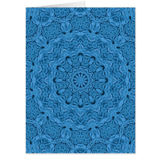 Decorative Knot Kaleidoscope  Giant Greeting Cards