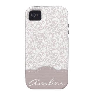 Decorative Lace iPhone 4 Case