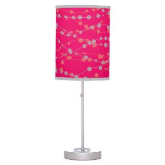 Decorative lamp Magenta color