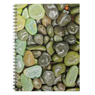 Decorative landscaping rocks notebook