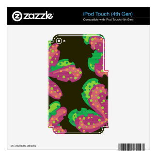 Decorative leafs 2 iPod touch 4G decals