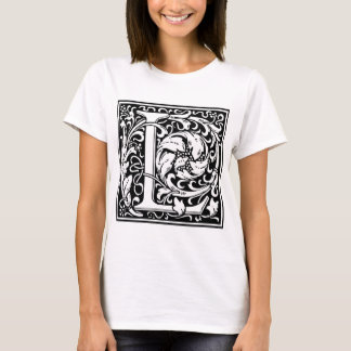 "Decorative Letter Initial ""L"" T-Shirt"