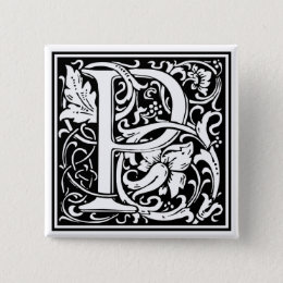 "DecorativeLetter Initial ""P"" Button"