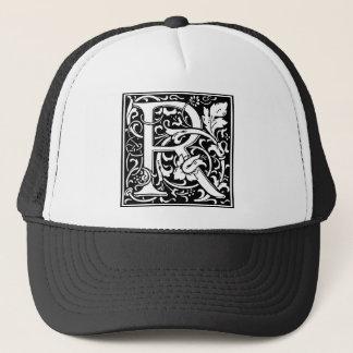 "DecorativeLetter Initial ""R"" Trucker Hat"