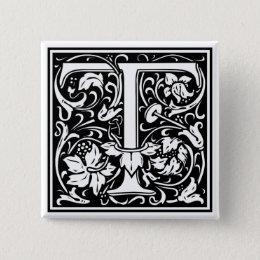 "DecorativeLetter Initial ""T"" Button"