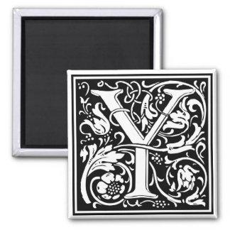 "DecorativeLetter Initial ""Y"" Magnet"