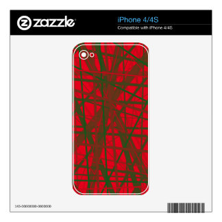 Decorative line design by Moma iPhone 4S Decals