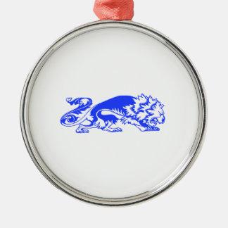 Decorative Lion Metal Ornament