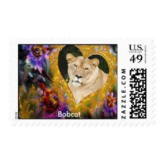 Decorative Lion Postage
