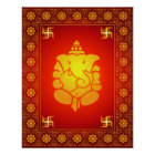 Decorative Lord Ganesha Poster