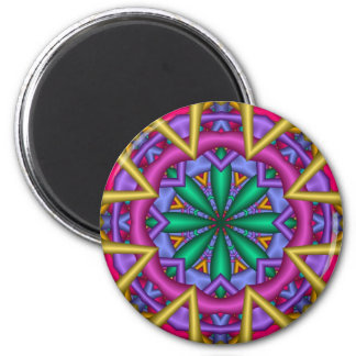 Decorative Mandala Fun magnet