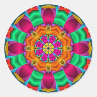 Decorative Mandala sticker Flower Heart