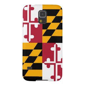 Decorative Maryland State Flag Case For Galaxy S5