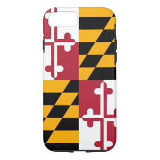 Decorative Maryland State Flag iPhone 7 Case