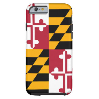 Decorative Maryland State Flag Tough iPhone 6 Case