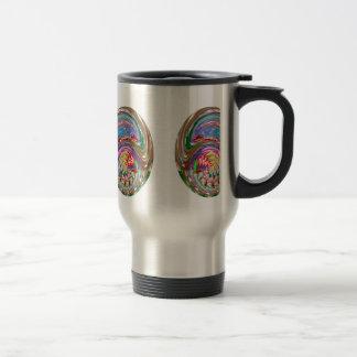 Decorative Mask Art: Martial Great Masters Coffee Mug