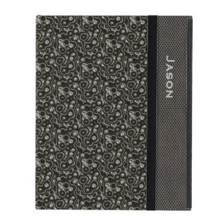 Decorative Metallic Look iPad Case