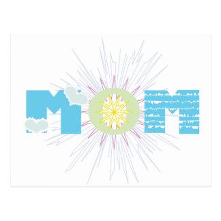 Decorative Mom Post Card