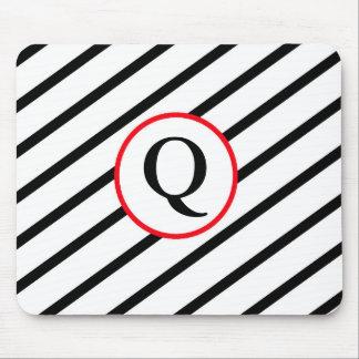 Decorative Monogram Mouse Pad