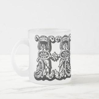 Decorative Monogram Mug