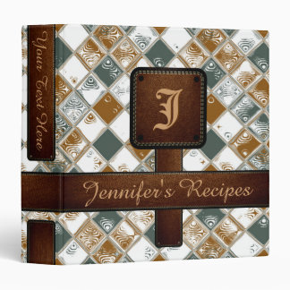 Decorative Mosaic Tiles Pattern #8 Vinyl Binders