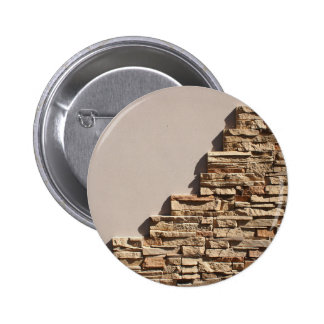 Decorative mosaics of natural stone 2 inch round button