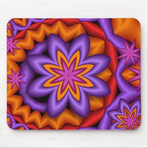 Decorative mousepad Fantasy Flowers