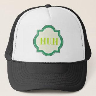 Decorative Mum Trucker Hat
