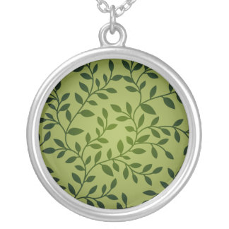Decorative nature pattern necklace