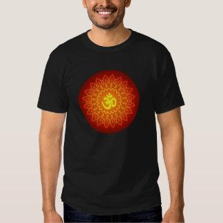 Decorative Om Design T-shirt