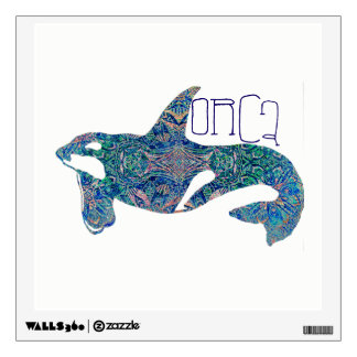 Decorative Orca Wall Sticker