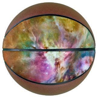 Decorative Orion Nebula Galaxy Space Photo Basketball