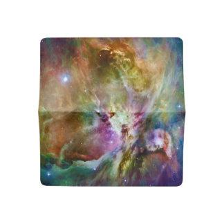 Decorative Orion Nebula Galaxy Space Photo Checkbook Cover