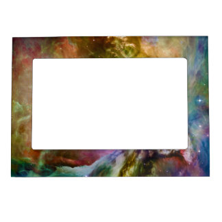 Decorative Orion Nebula Galaxy Space Photo Magnetic Frame