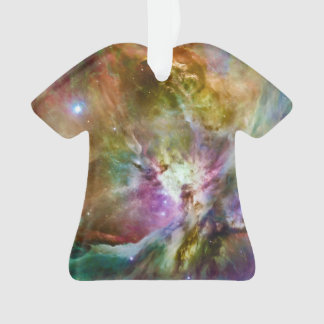 Decorative Orion Nebula Galaxy Space Photo Ornament
