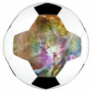 Decorative Orion Nebula Galaxy Space Photo Soccer Ball