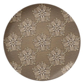 Decorative Ornamental Design Dinner Plates