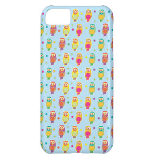 Decorative owl pattern iPhone 5C cover