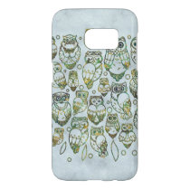 Decorative Owls Samsung Galaxy S7 Case