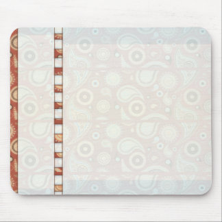 Decorative paisley designs wedding gift mousepad