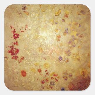 Decorative Panel by Odilon Redon Sticker
