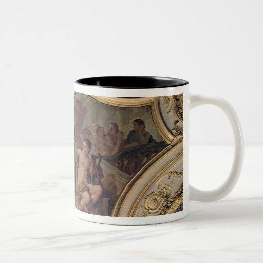 Decorative panel from the Oval Salon Two-Tone Coffee Mug