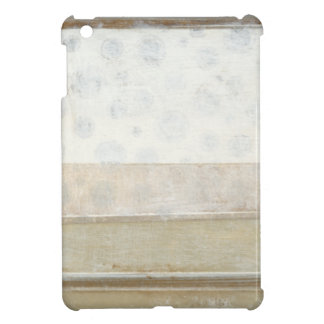 Decorative Panel Painting in Neutral Colors iPad Mini Covers