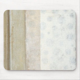 Decorative Panel Painting in Neutral Colors Mousepads