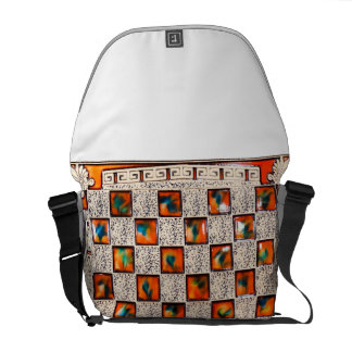 Decorative Patron Image for Medium-Messenger-Bag Courier Bags
