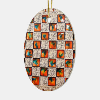Decorative Patron Image for Oval Ornament
