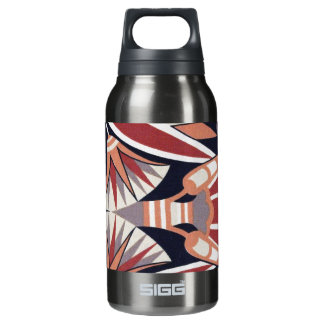 Decorative Pattern Insulated Water Bottle