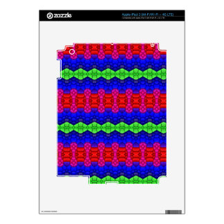 Decorative pattern shapes skins for iPad 3